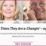The Times They Are a-Changin' – again