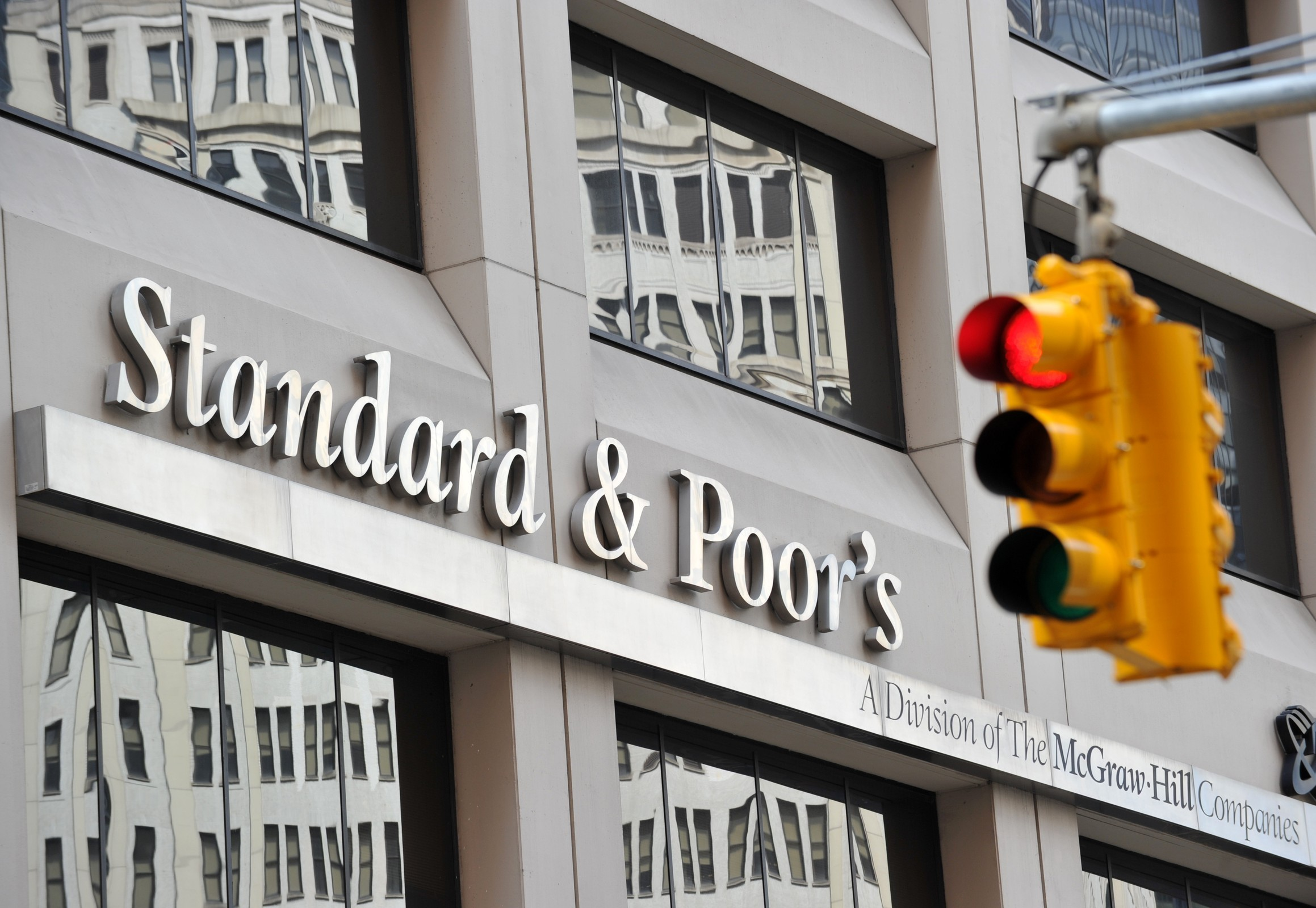(FILES) - Photo shows Standard & Poor's